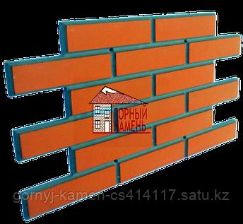 Фасадная облицовочная бетонная панель под кирпич на шурупах, фото 2