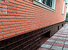 Фасадная облицовочная бетонная панель под кирпич на шурупах, фото 4