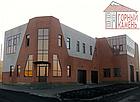 Фасадная облицовочная бетонная панель под кирпич на шурупах, фото 3