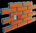 Фасадная облицовочная бетонная панель - клинкерный кирпич, фото 8