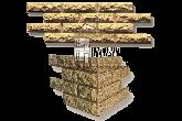 Фасадная облицовочная бетонная панель - каменный кирпич, фото 2