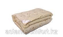 Одеяло из овечьей шерсти, 1,5-сп., зимнее, полиэстер. Россия