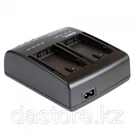 SWIT S-3602B двух-канальное зарядное устройство для аккумуляторов Panasonic VBG6 и SWIT S-8BG6, фото 2