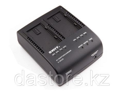 SWIT S-3602D двухканальная зарядка для CGA-D54/CGA-D54s и S-8D58 /98 /S-8D62