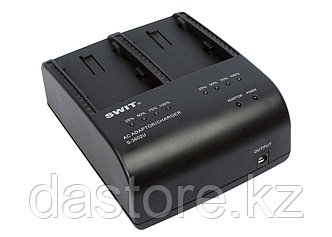 SWIT S-3602U двух-канальное зарядное устройство для аккумуляторов BP-U30/60/90 и S-8U63, фото 2
