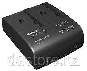 SWIT S-3602F двух-канальное зарядное устройство для аккумуляторов NP-F770/970 и S-8972/S-8970/S-8770