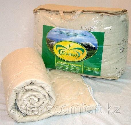 Одеяло облегченное Престиж, овечья шерсть, 1,5-спальное
