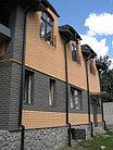 """Фасадная облицовочная бетонная панель - """"каменный кирпич""""  старый кирпич, фото 4"""