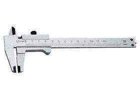 Штангенциркуль, 125 мм, цена деления 0,1 мм, класс 2, ГОСТ 166-89 (Эталон) Россия