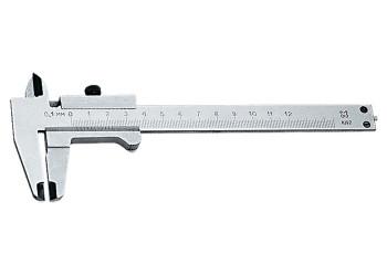 Штангенциркуль, 125 мм, цена деления 0,1 мм, класс 2, ГОСТ 166-89 (Эталон) Россия - фото 1