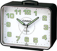 Будильник Casio TQ-218 Black/white, фото 1