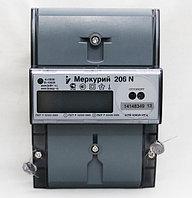 Меркурий 206 N Счетчик электроэнергии однофазный многотарифный