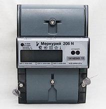 Меркурий 206 RN Счетчик электроэнергии однофазный многотарифный
