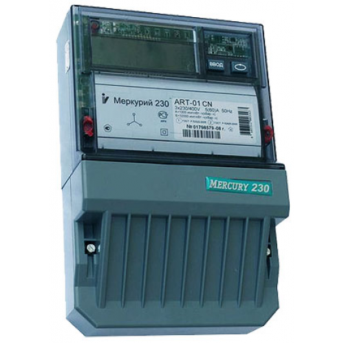 Меркурий 230 AR-03 R Счетчик электроэнергии ,трехфазный , активно/реактивный