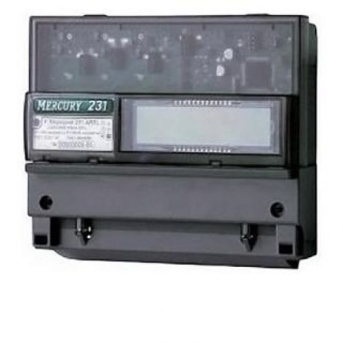 Меркурий 231 АТ-01I Счетчик электроэнергии трехфазный, активной энергии, многофункциональный