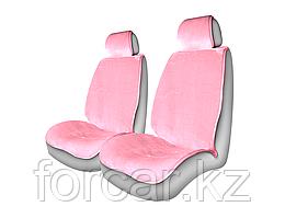 Накидки из искусственного меха ALPACA FRONT передние Розовый