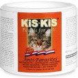 KiS-KiS Pastils for Cats Anti-Parasites Витаминизированные пастилки для кошек (противопаразитарные), 120таб.