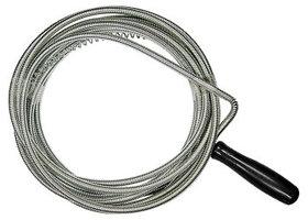 Трос для прочистки труб, L - 5 м, D - 6 мм СИБРТЕХ