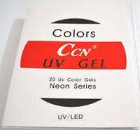 Гель для наращивания ногтей Ccn (неоновые цвета)