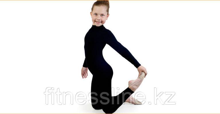 Комбинезон для гимнастики  с длинным рукавом лосинами Альера