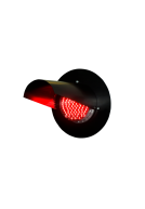 Головка светофорная светодиодная для ж/д переездов кр.цвета НКМР.676636.003, лунно-белая НКМР 676636.003-01