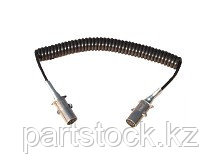 Кабель электр. спиральный, с розеткой, аллюм. 7 полюс на / для SERTPLAS  EN3853FWM40