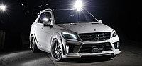 Обвес Wald Black Bison на Mercedes Ml W166, фото 1