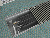 Конвектор в пол KVZV 250-85-1200.00.000 (вент.), фото 1