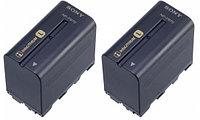 Sony 2NP-F970/B комплект аккумуляторов для HD/HDV/DV камер SONY