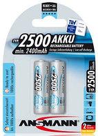 Ansmann AA 2500 mAh maxE (блистер 2 шт.) аккумулятор тип АА, ёмкость 2500
