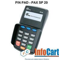 ПИН ПАД - PIN PAD SP20 (выносная клавиатура для ПОС терминала).