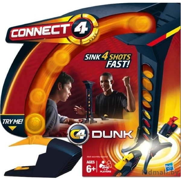 Hasbro games Connect 4 (игра для двоих)
