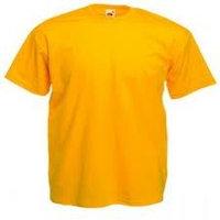 Футболка желтая, о- образный вырез, фото 1