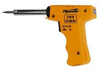 Паяльник-пистолет с регулировкой мощности 25-80 Вт, 220 В SPARTA