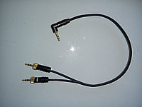 DaStore Products AIPRS-204 кабель для соединения фотоаппарата (EOS MARK II/III и др.) с двумя радиосистемами Sennheiser и пр.