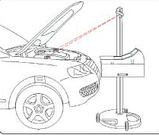 Установка проверки и регулировки светового потока фар, аналоговый люксометр NORDBERG NTF1 (Тестер фар), фото 8