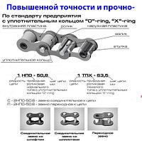 Цепь приводная роликовая повышенной прочности и точности