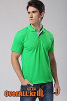 Мужская футболка поло, зеленая
