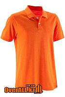 Оранжевая футболка поло, фото 1