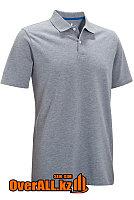 Серая футболка поло, фото 1