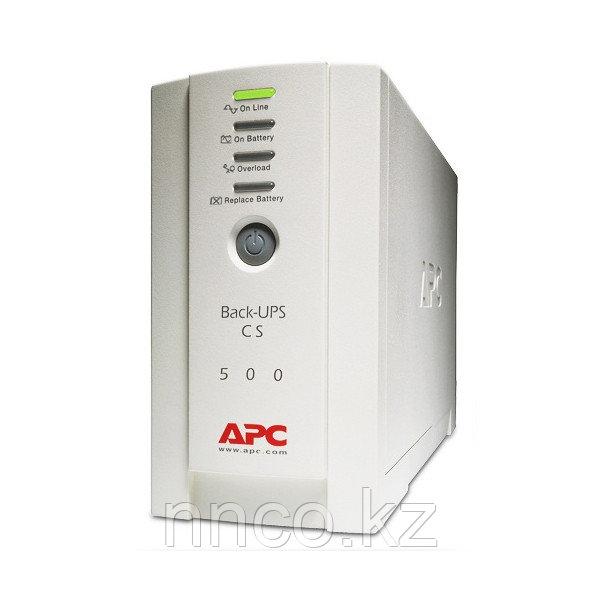 Источник бесперебойного питания APC Back-UPS 500, 230V BK500EI