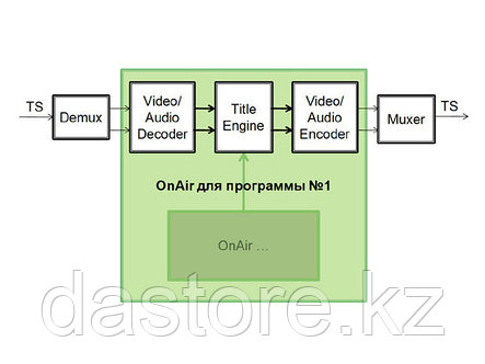 СофтЛаб Форвард ТС-ASI (HD) HD AVC, 1 канал (программа), фото 2