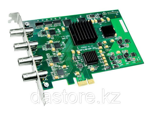 СофтЛаб Опция HD-SDI I/O (1-In/1-Out) PCI-E плата FD422, один HD-SDI ввод, один HD-SDI вывод