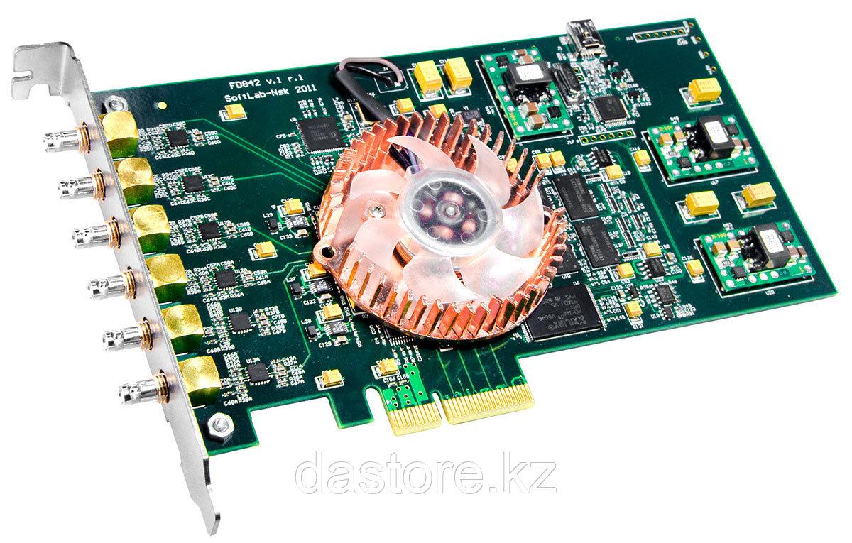 СофтЛаб Форвард ТH Плата ввода-вывода HD-SDI (FD842, 4-In/0-Out), 4 канала ввода и ПО BasePack