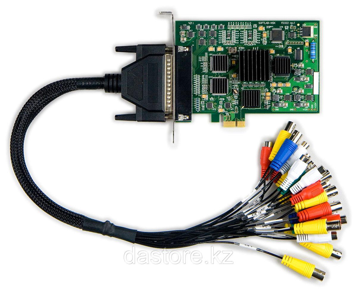 СофтЛаб Форвард ТH Плата ввода-вывода ANALOG (FD322, 2-In/0-Out), 2 канала ввода и ПО BasePack