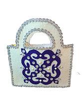 Женская сумочка из войлока ручной работы