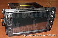 Автомагнитола Toyota Corolla 2007-2012 FT-8200, фото 1