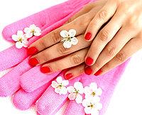 Гелевые увлажняющие перчатки  SPA, фото 1