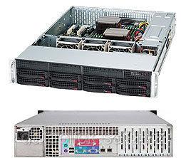 Корпус для сервера Supermicro CSE-825TQ-563LPB  Rack 2U