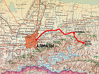 Алматы - Тургеньское ущелье